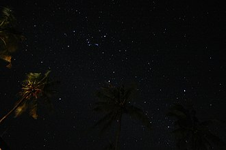 Winter Hexagon - Winter constellations as seen from the tropics