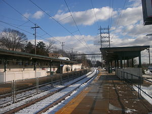 Wissahickon station - The Wissahickon station in December 2012.