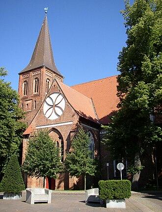 Wittenburg - Image: Wittenburg church