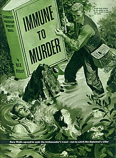 Immune to Murder short story by Rex Stout