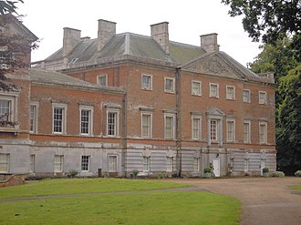 Wolterton Hall - North elevation