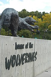 Wolverine Sign Front Entrance (2312922995) (2)