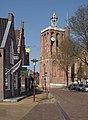 Workum, de toren van de Grote of Sint-Gertrudiskerk, RM39466 IMG 2387 2018-04-18 15.19.jpg