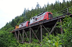 Logging Operations Vancouver Island Ministy Of Forests