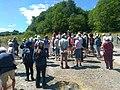 Wrexham Branch of North Wales Wildlife Trust walk in Minera Quarry (2018).jpg