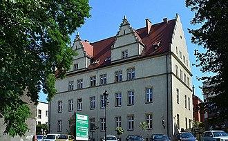 Courthouse in Września - Image: Września fotopolska.eu (331330)
