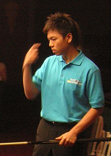 Wu Chia-Ching at the World Pool Trickshot Masters 2007.JPG