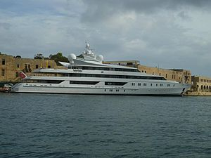 Indian Empress - Docked in the harbor of Valletta, October 2011.(Malta)
