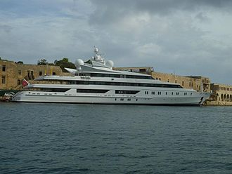 Indian Empress - Docked in the harbor of Valletta, October 2011.(Malta)