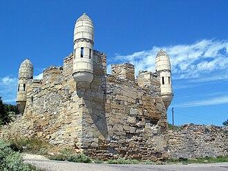 Yeni-Kale - Image: Yeni Kale fortress, Kerch