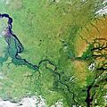 Yenisei River, Siberia, captured by Envisat ESA230187.jpg