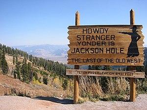 Wyoming Highway 22 - Summit of the Teton Pass
