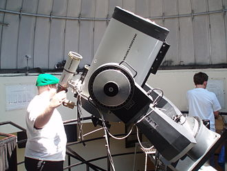 """Meade Instruments - A 16"""" (40.64 cm) Meade LX200 in the York University Observatory"""