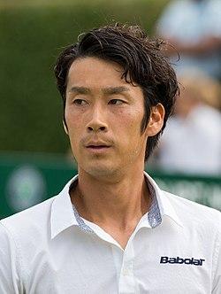 Yuichi Sugita 4, 2015 Wimbledon Qualifying - Diliff.jpg