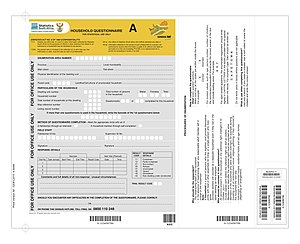 South African National Census of 2011 - Questionnaire A