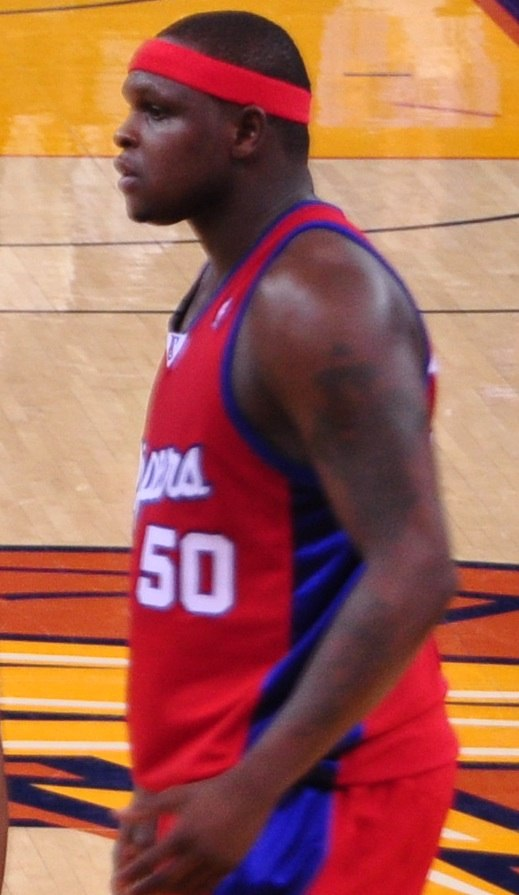 Zach Randolph profile view