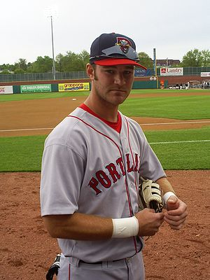 Zach Daeges - Daeges while playing for the Portland Sea Dogs
