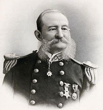 USS Albatross (1882) - Zera Tanner, USS Albatross Commander from 1882-1894