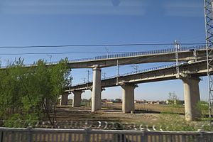 Zhangjiakou-Tangshan Railway and its Tangshan North Spur Line (20160414082935).jpg