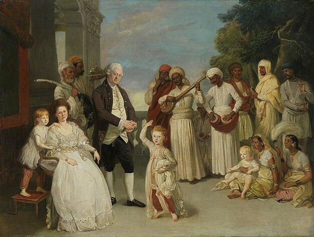 Zoffany-Impey-family-Calcutta