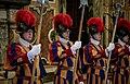 Zoran Zaev's trip in The Vatican city - Swiss guards - 6.jpg