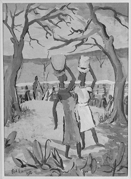 "File:""Waterside Scene"", 1950 - NARA - 558877.jpg"