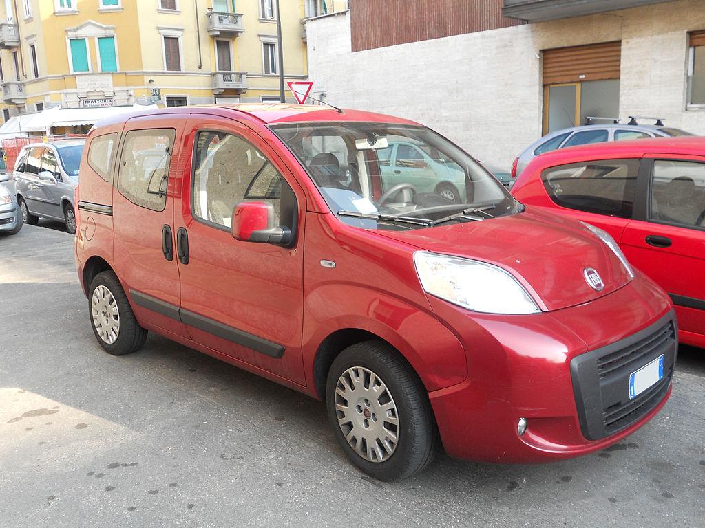 FIAT Qubo - Clarke Mobility