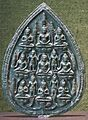 'Buddhist Plaque', Thailand, 13th century, bronze, Norton Simon Museum.JPG