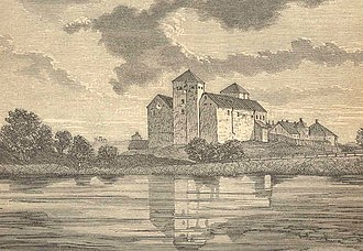 Lars Ulstadius - The Castle of Turku, where Lars Ulstadius was imprisoned the first three years of his life sentence.