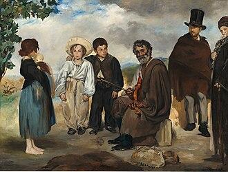 The Absinthe Drinker (Manet painting) - Image: Édouard Manet Le Vieux Musicien