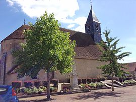The church of Saint-Pierre, in Chambon