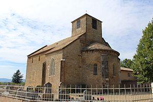 Bey, Ain - Image: Église St Martin Bey 20