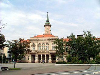 Bečej - Image: Óbecse Városháza