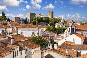 Óbidos, Portugal - A view of Óbidos