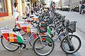 Łódzki Rower Publiczny, Piotrkowska Street 02.jpg