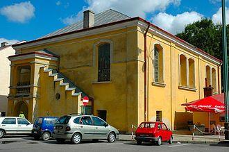 Łańcut - Image: Łańcut synagoga 01