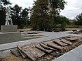 Братська могила у с.Романівка, вигляд з півдня.JPG