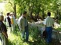 Братська могила 1 Голокост Меджибіж 01.jpg