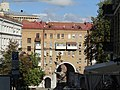 Будинок житловий, вид із вулиці Лютеранської, Хрещатик, 21.jpg