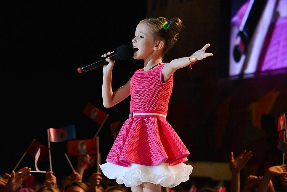 Данэлия Тулешова (день 1) на Детской Новой волне 2015