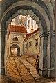 Добужинский М. В. В старом городе. Вильно (Вильнюс). 1914.jpg