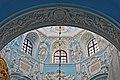 Дубровицы, Знаменская церковь, интерьер (вид от входа).jpg