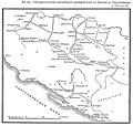 Карта к статье «Оккупационная экспедиция австрийцев в Боснию и Герцеговину в 1878—1879 гг.». ВЭС (СПб, 1914).jpg