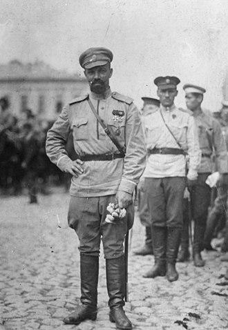 Alexander Kutepov - Alexander Kutepov in Kharkiv after taking the city in June 1919.