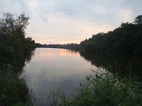 Вид озера с востока