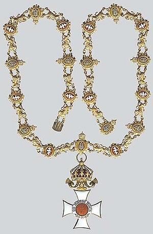 Order of Saint Alexander (Bulgaria) - Image: Орден Св. Александръ с голямо огърлие