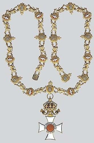 Orders, decorations, and medals of Bulgaria - Image: Орден Св. Александръ с голямо огърлие