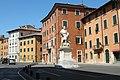 Площадь Франческо Каррара (Piazza Cararra), город Пиза, Италия.JPG