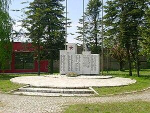 Tovariševo - Image: Спомен обележје борцима и настрадалим у Другом светском рату 2