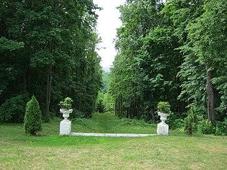 Gaginsky District - Estate park in Gaginsky District